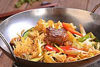 美味干锅有机花菜