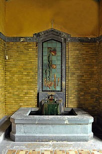 沈阳故宫溥仪洗浴池