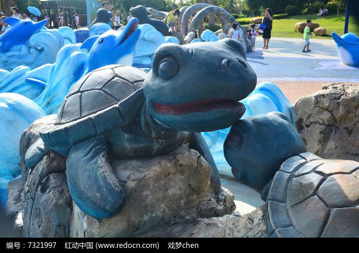 乌龟雕刻艺术图片图片