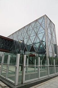 涿州博物馆玻璃幕墙外景