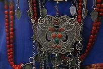 20世纪布里亚特人服装银饰品