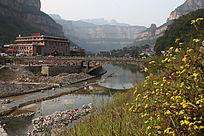 河南林州石板岩乡风景