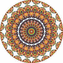 名族纹样数码印花花型