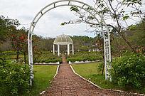 樱花谷浪漫婚礼拱门