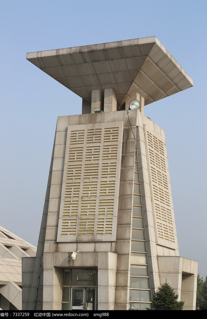 安阳博物馆塔楼图片,高清大图