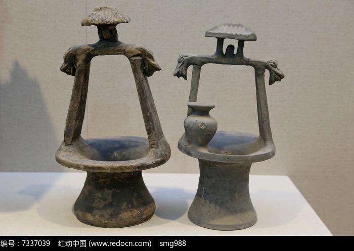 汉代陶井图片