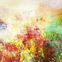 极简风格抽象油画
