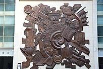 铜雕古代艺术文化荟萃