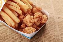 炸鸡块蓍条