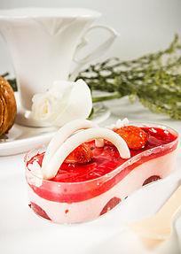 草莓创意甜点