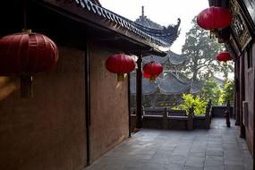 寺庙的灯笼图片