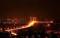 厦门 海沧大桥全景风光