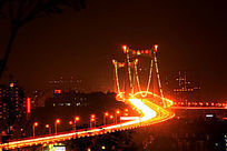 厦门海沧大桥夜景