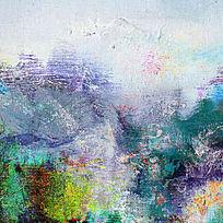 写意山水风景画
