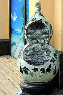 葫芦艺术雕塑