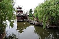 韩湘水博园三星拱月桥