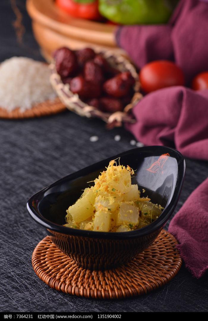 美味菜蕊图片