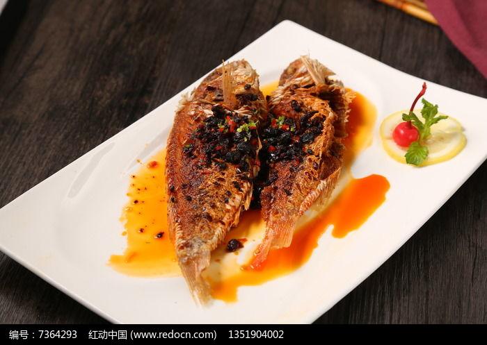 美味豆豉小黄鱼图片