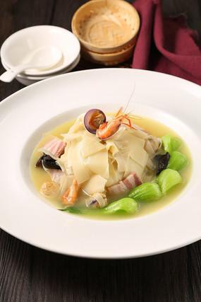 咸肉河虾笋片