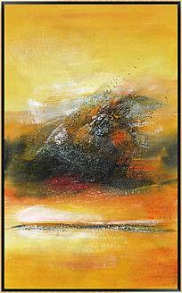 端景玄关抽象油画