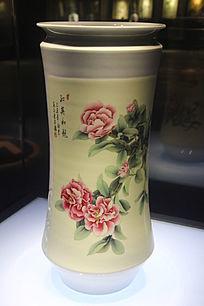 花香舞蝶瓶