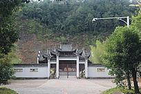 古代庭院大门