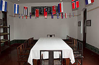 国民党时期会议室