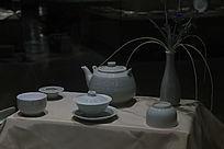鲁青瓷日式茶餐具
