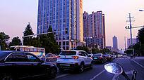 清晨的长沙街头