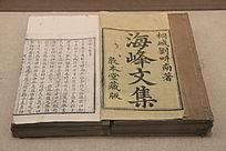 清代海峰文集