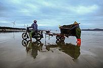 渔民工作场景