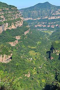 河南林州石板岩峡谷民居