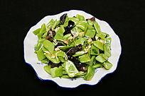 家常菜木耳扁豆