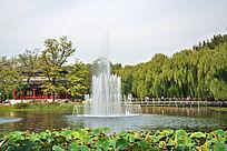 圆明园内园林景观