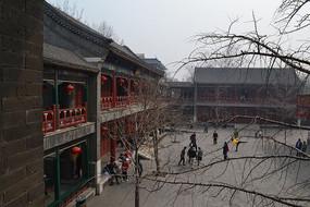 北京大观园省亲别墅内景