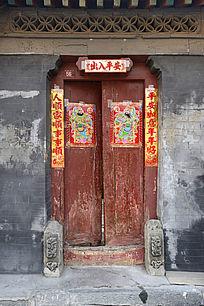 北京老民居大门