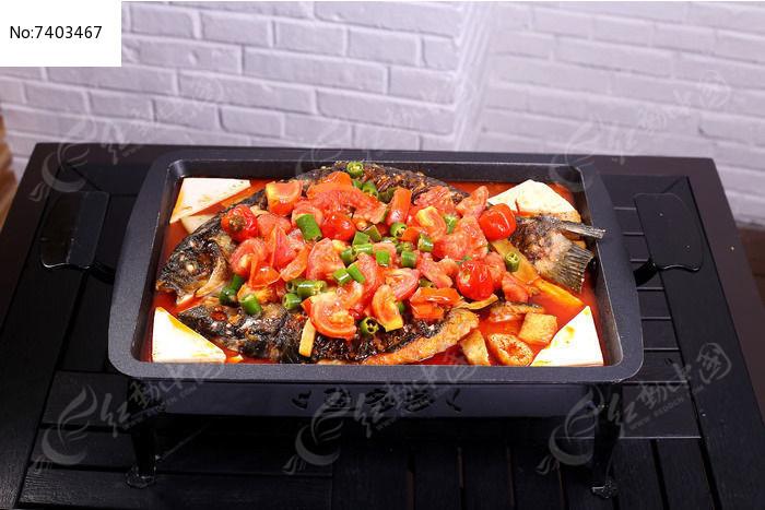 美味西红柿烤鱼图片
