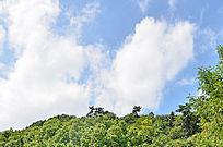 自然风景天空白云素材图