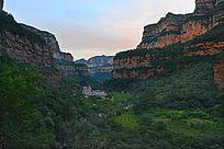 河南林州太行峡谷景色