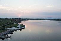 蓝湖全景图