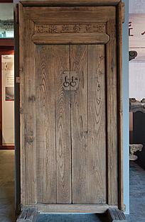 清代木门框