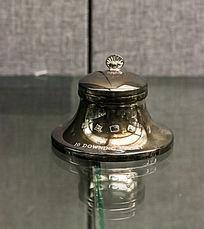银墨水瓶模型