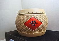 竹编茶叶罐
