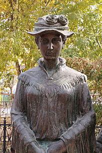 古代英国少妇雕像