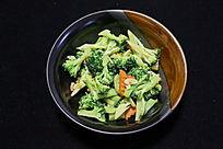 家常菜清炒花菜