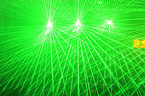 绿色舞台光