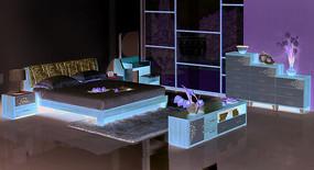 斗柜灯柜电视柜床妆台妆凳成人套房