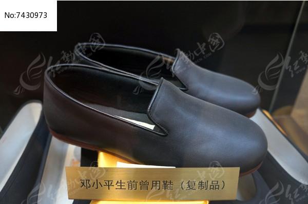 内联升为邓小平制作的鞋子图片