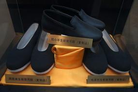 内联升鞋店为邓小平 周恩来和毛泽东同志制作的鞋子