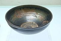 金代黑釉红斑碗